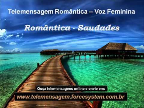 telemensagens romanticas para ouvir e