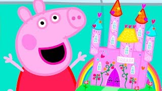 Peppa Pig English Episodes | Peppa's Magical Castle! | Back to School 2018 Special | #PeppaPig