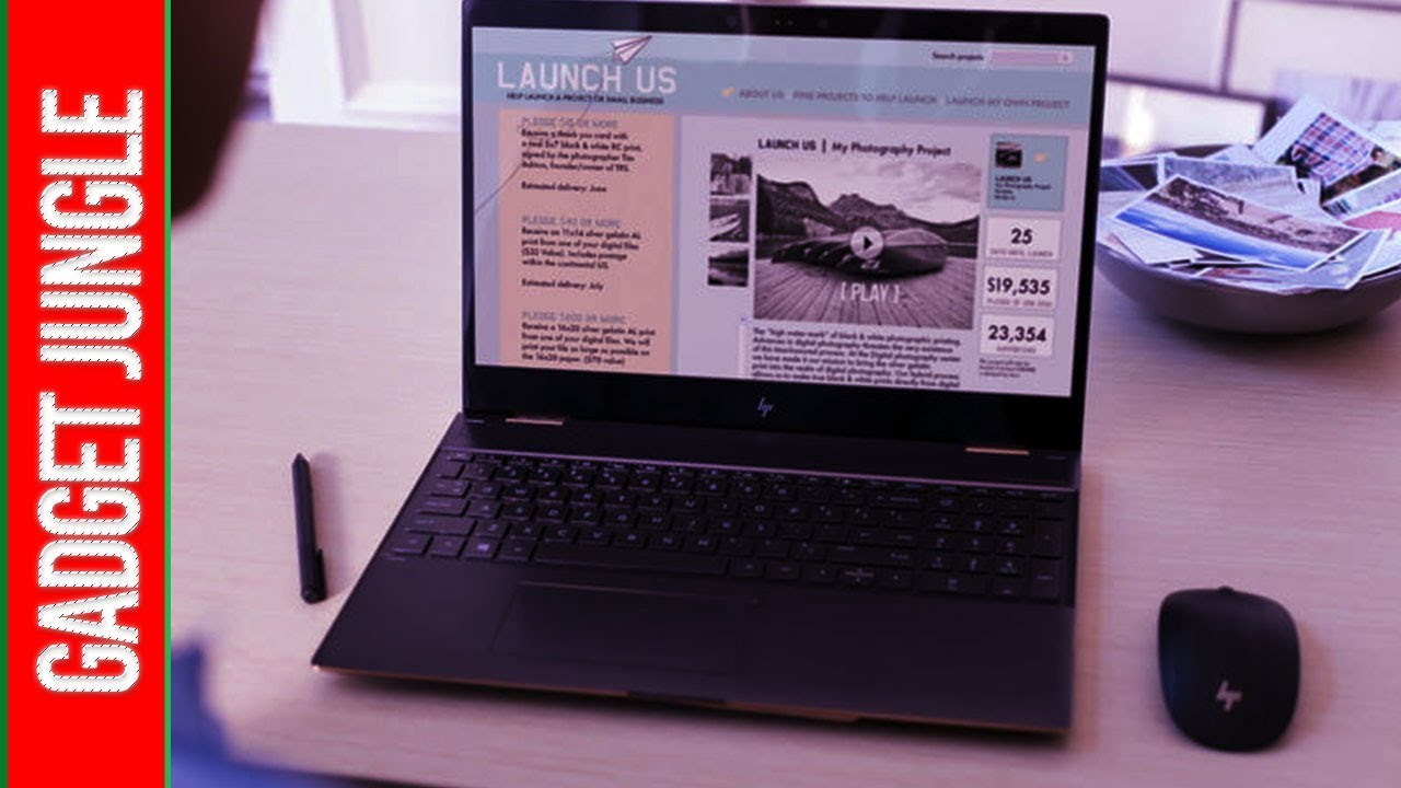 Best Hp Laptop 2020.Best Touch Screen Laptop 2020 Hp Spectre X360 15t Youtube