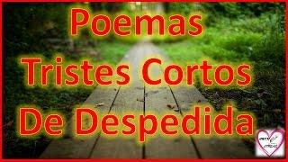 Poemas Tristes Cortos De Despedida -  Poema Adios Amor Mio