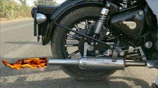bullet pataka sound ( how to make pataka sound on bullet)  || Ajay Motovlogs