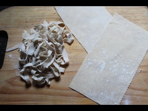 Homemade Lasagna Sheets Recipe – Homemade Vegan Pasta Recipe
