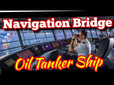 Life at Sea| Inside the Navigation Bridge of a Crude Oil Tanker Ship| Mariner Mahbub