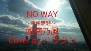 ハラクンより 湘南乃風さんで 「NO WAY~悪漢無類~」 弾いてみました.