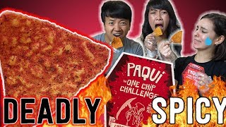 Insane SPICIEST CHIP (Carolina Reaper) in The World Challenge