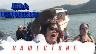 Остров обезьян в Тайланде!!!Кафе-безлимит с русской кухней, Централ Фестиваль!!!