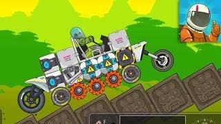 RoverCraft Space Racing - Build Funny Car Walkthrough GamePlay