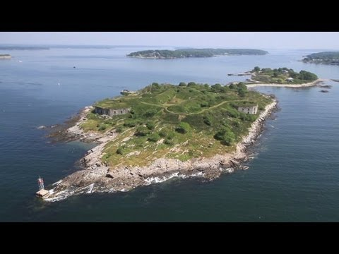 Isle for sale, 19th century fort included