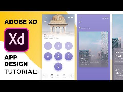 Reminder App UI Design in Adobe XD | UI Design Tutorial | Design Weekly thumbnail