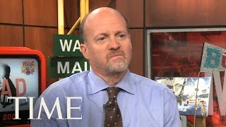 Mad Money: Jim Cramer Talks Jon Stewart Attack On The Daily Show, The Recession & More | TIME
