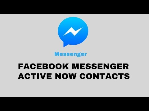 How To Hide/Unhide Facebook Messenger Active Now!!!   No Uninstalling/reinstalling Needed!