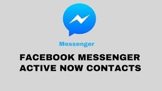 How to Hide/Unhide Facebook Messenger Active Now!!! | No uninstalling/reinstalling needed!