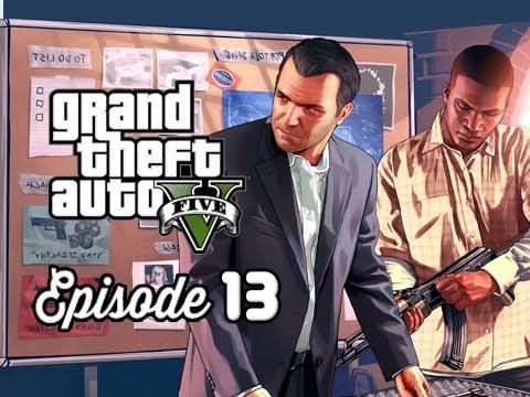 Grand theft auto 5 walkthrough part 13 the jewel store for Bureau 13 gameplay