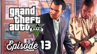 Grand Theft Auto 5 Walkthrough Part 13 - The Jewel Store Job ( GTAV Gameplay Commentary )
