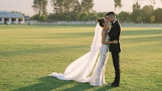 Model couple Gregg Hammond and Chanelle Sardinha have a stunning polo wedding | PREVIEW