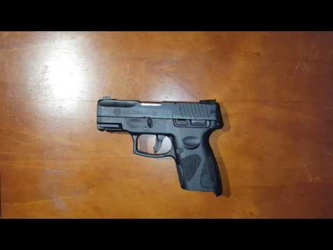 Taurus PT111 - How to Disassemble/Reassemble for cleaning