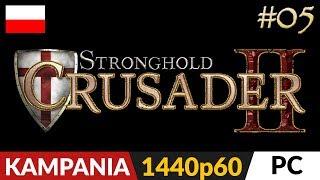 Twierdza Krzyżowiec 2  #5 (odc.5)  Cały Saladyn | Stronghold Crusader 2 Gameplay po polsku