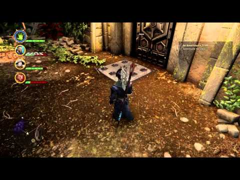 """Jaws of Hakkon"" Courtyard Door Puzzle Solutions Dragon Age Inquisition"