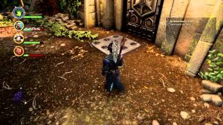 """""""Jaws of Hakkon"""" Courtyard Door Puzzle Solutions Dragon Age Inquisition"""