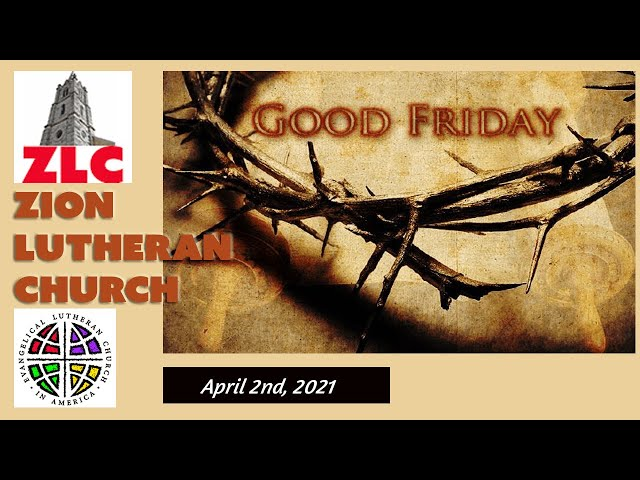 Service - 20210402 - Good Friday - The Service of Tenebrae