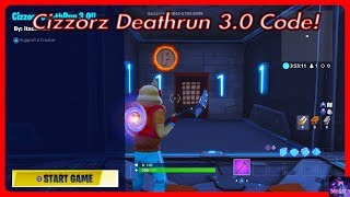 Cizzorz Deathrun 3.0 COURSE CODE! | Fortnite Battle Royale