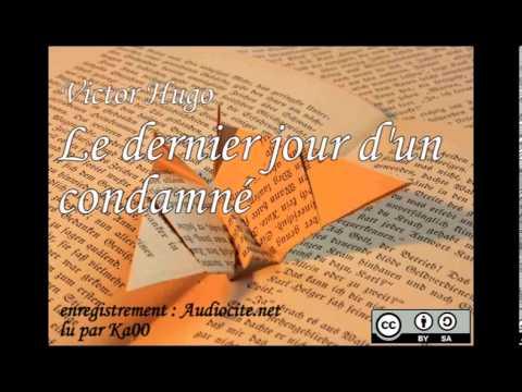 Livre audio : Le dernier jour d'un condamné - Victor Hugo