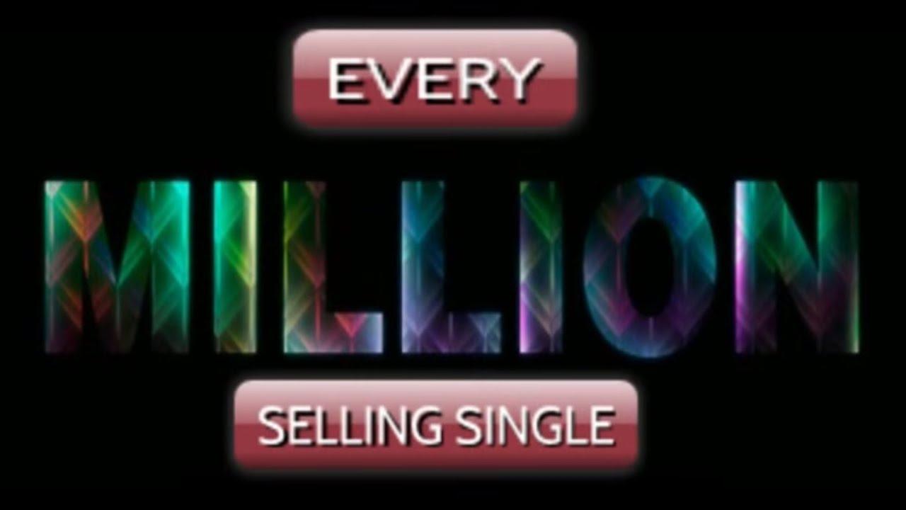 top 50 biggest selling singles uk
