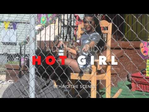 Behind the Scenes w/ Alexis Gaudy HOT GIRL music video shoot
