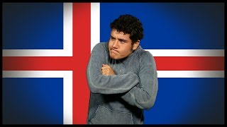 Flag/ Fan Friday! ICELAND + Naked story (Geography Now!)