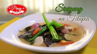 Tilapia Recipes - Sinigang Na Tilapia - Filipino Recipes