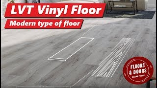 Vinyl Flooring LVT 100% Waterproof & Silent Floor. Extra strong. Vinyl Floors by Arbiton