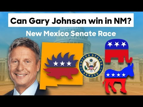 Can Gary Johnson Win the 2018 New Mexico Senate Race?