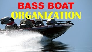 Bass Boat Organization Tackle Storage