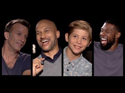 THE PREDATOR Cast s: KeeganMichael Key, Thomas Jane, Tremblay, Rhodes, Holbrook, Aguilera
