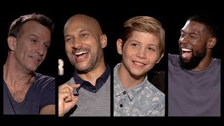 THE PREDATOR Cast Interviews: Keegan-Michael Key, Thomas Jane, Tremblay, Rhodes, Holbrook, Aguilera