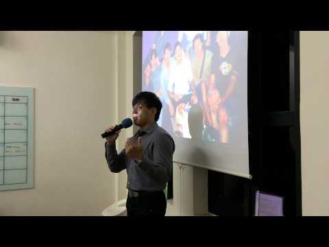 Kenji Joo thank Singapore MWS company for invitation for sharing