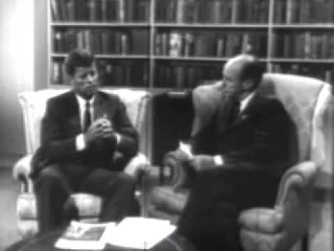 Commercial   Adlai Stevenson 1956 Election Ad Talking w Senator JFK