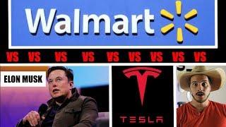Walmart Suing Elon Musk & Tesla