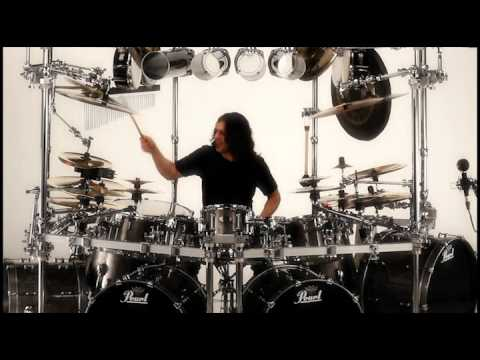 Building a Pure Dream - Seting up Mike Mangini drum kit and testing it
