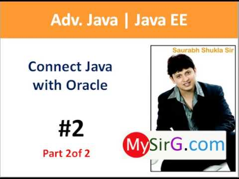 #2 JDBC Connect Java with oracle part 2 of 2