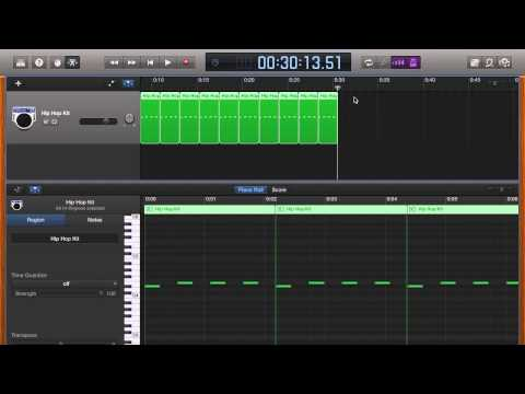 How to create a Click Track in Garage Band