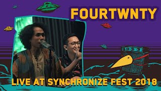 Fourtwnty LIVE @ Synchronize Fest 2018