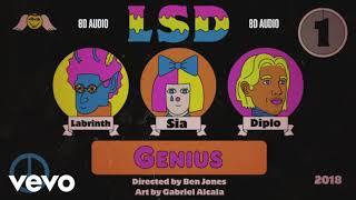 Download Lagu LSD - Genius ft. Sia, Diplo, Labrinth | 8D Audio || Dawn of Music || Mp3