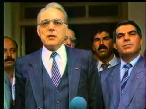 Zine El Abidine Ben Ali en 1986