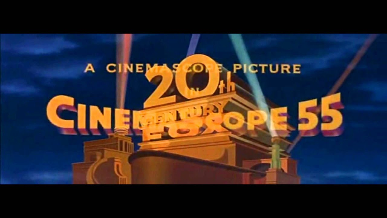 20th Century Fox Cinemascope  U0026 39 55 Logo Reversed