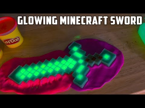 Thumbnail: 2 Homemade Minecraft Diamond Swords