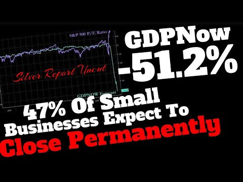 Feds GDPNow Plummets To -51.2%, 47% Small Businesses Expect To Close Permanently, Spending Collapse from YouTube · Duration:  13 minutes 19 seconds