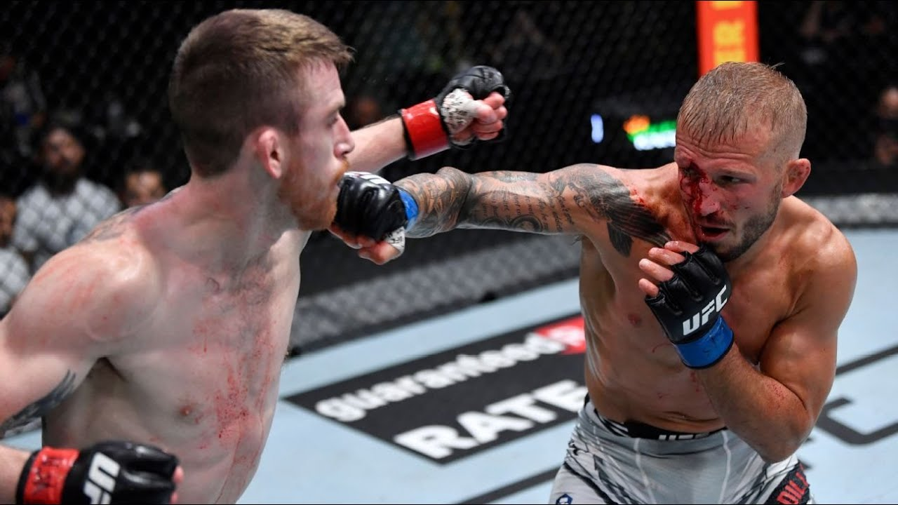 TJ Dillashaw Grabs Split Decision from Cory Sandhagen