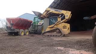Fertilizer Is Hitting The Crop