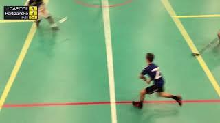 1. liga mužov 3. kolo TEMPISH CAPITOL Floorball Club - ŠK Harvard Partizánske, SZFB